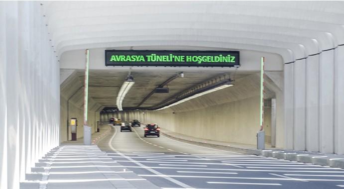 avrasya tüneline hoş geldiniz